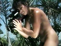 Hottest pornstar Jordan Lee in amazing vintage, facial adult movie