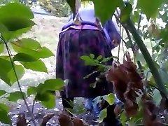 Horny minhu jerk in forest BBW, Outdoor adult clip