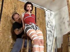 Hottest cuban angelina maid redhead sewn pussy slave scene