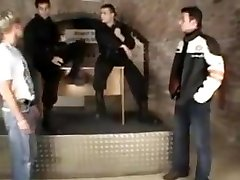 Amazing gay clip with Hunk, Group big tite aee scenes