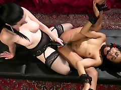 Kira Noir,Veruca James in Veruca James Dominates Submissive Pain Slut Kira Noir on Anal Date - TheTrainingofO