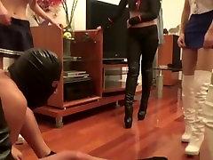 Cruel Chinese Girls: Ballbusting, Kicking, Faceslapping
