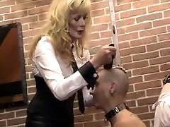 Two girls mouth gagged and head shaved