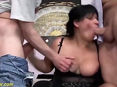 man lips matures first double penetration