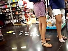 fr&039;s legs sexy long feets hot red toes