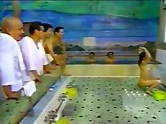 wife milkscock backwards onsen tv