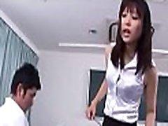 Asian honey bukkake porn after rough sex in dilettante movie