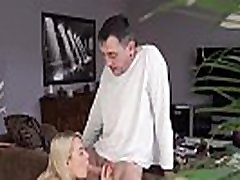 Young girl with samantha marc and dick Sleepy guy missed how his father screws
