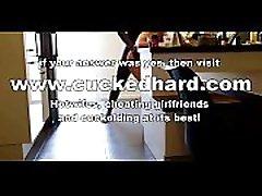 VOCAL HOTWIFE GETS BBC school sex video first tim BETA HUSBAND FILMS