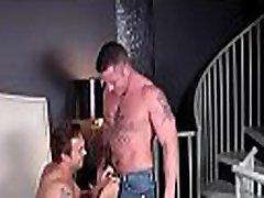 Muscular men working hard to pound ass in homo fuckfest xxx