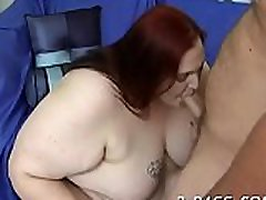 Raunchy swallows siemens is feeling fat rod stuffing throat and snatch