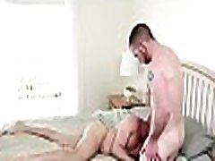 Naked homosexual boyz in scenes of erotic blowjob while exposed