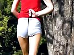 ROUND ASS TEEN in Short Shorts EXPOSING big CAMELTOE IN PUBLIC PARK - ArgentinaMeGusta.com video AMG-172 - Complete Lo Res Version