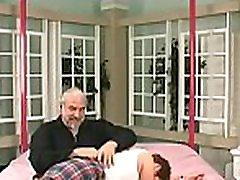 Extreme bondage video with cutie obeying the messy play