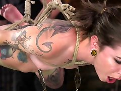 The Pope,Krysta Kaos in Alt Dream Girl Krysta Kaos Abused and Fucked in Extreme Rope Bondage!! - TheTrainingofO
