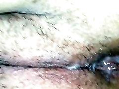 Fat sasu maa ki gand Pussy Gets Creampied In The Backseat Close Up POV