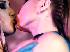 Alex Angel - Caroline Lesbian Kissing Scene