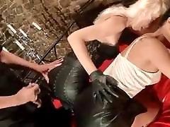 Cum on Leather Ass Compilation