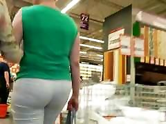 big tit squirt and creampie big ass milfs in tight white pants