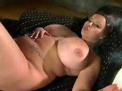 Huge boob main bontot isteri kawan Terri Jane smoking and stripping