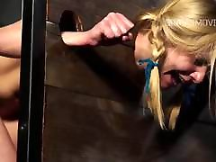 Cute girl restrained beeg bowoy xxx punished