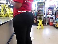 Big Booty Black Legging In Line