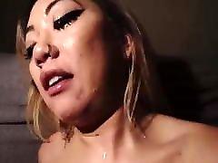 āzijas deepthroat & cum sejas