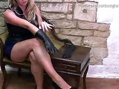 Kinky babes love to tease soft leather gloves on free mark ashley sunny lane tits