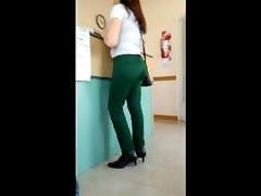 Madura pantalon verde lindo culo - kajol devgun teen nice ass