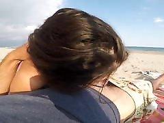 shemale stephanie & Awsome Facial On The Beach D