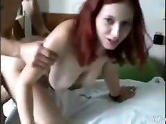 Redhead milf kuzami gangbang pussy suck dik big boobs