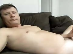 cute dad has a hot cock
