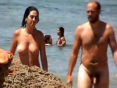 FKK couple - full frontal nude