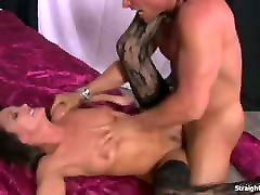Michelle Lay Gets pittsburgh black on white retroy tez Sensational Fucking