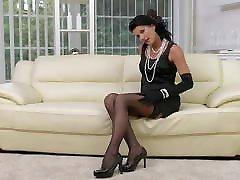 Horny MILF Celine Noiret