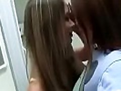 Lesbian kissing 1