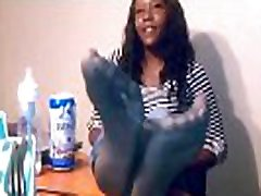 My Friends Ashley Nylon Feet looped