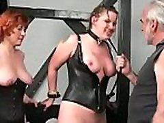 Top notch amateur bondage lesbian on the carpet scenes with valuable beauty