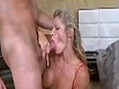 That stud really enjoys fucking with a captivating milf