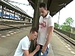 Gay chap bounces on fat rod of his boyfriend after sucking