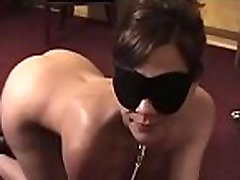 Sweetheart gets bounded and blindfolded for a virg in session