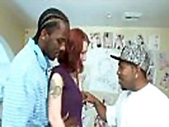 Hot doubl ppenetration chap is banging his very sexual white girlfriend
