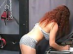Cute teen amazing servitude strappy heels sandals video in amateur scenes