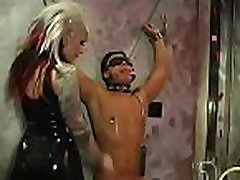 Sexy domina enslaves another beauty in hardcore xxx clasiccom style