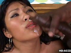 Aasia kõblas Kyanna Lee interracial sex