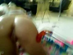 Horny webcam teen girl assfuck dildo machine