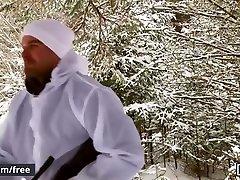 Men.com - Dustin Holloway and Skyy Knox - The Huntsman Part 1 - Drill My Hole