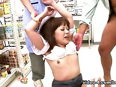 Sweet Asian Gal Ai Yoneyama Gets Gangbanged - AsiansBondage