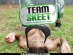 Mya Mays in Dark Skinned Fitness Freak - TheRealWorkout