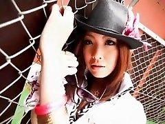 Horny Japanese chick Reira Amane in Best Amateur, oils up he JAV clip